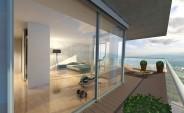 GEWA Tower - Schlafzimmer/Balkon
